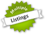 Multiple listings